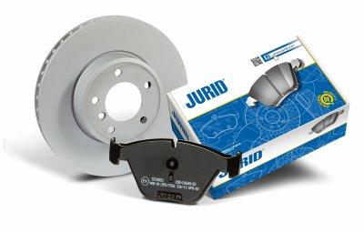 Jurid® – бренд продолжает заключать контракты на конвейерные поставки и представляет новые превосходные комплекты оснащения для легковых и коммерческих автомобилей.
