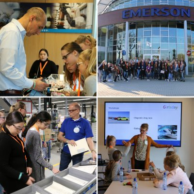 Emerson Hosts STEM Event to Inspire Next Generation of Women Engineers