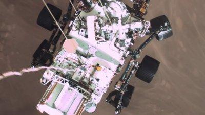 FLIR NASA's rover landing