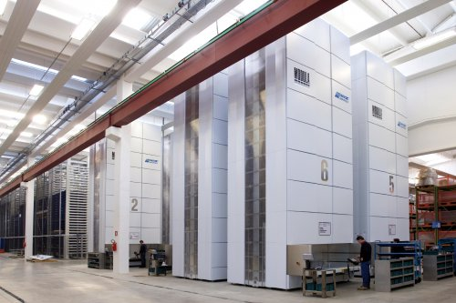 Bonfiglioli and System Logistics S.p.A partner on Modula, a high-performing, automatic warehouse  storage solution with different product lines that optimise space and increase efficiency and productivity